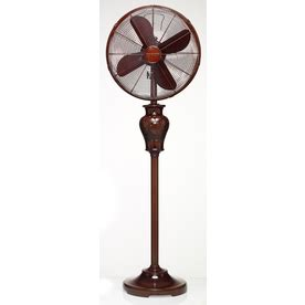 stand up fans at lowes shop deco breeze 16 in 3 speed oscillating stand fan at