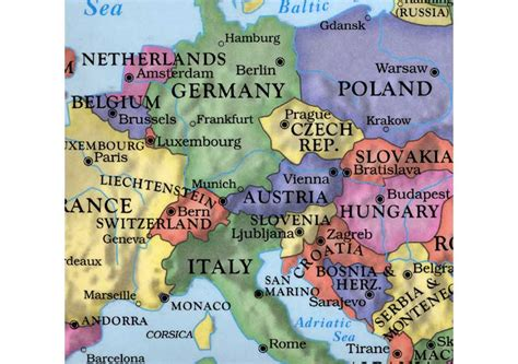 map of world germany germany map in world