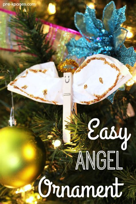 christmas ornament project for pre k easy ornament craft pre k pages