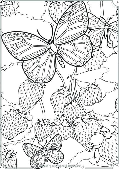 complex butterfly coloring pages free nature coloring pages coloring pages of mandalas free