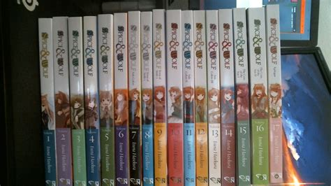 Spice And Wolf Vol 14 Light Novel finally completed my light novel collection feels