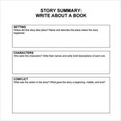 chapter summary template sle book summary template 5 free documents
