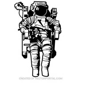 astronaut in space download at vectorportal