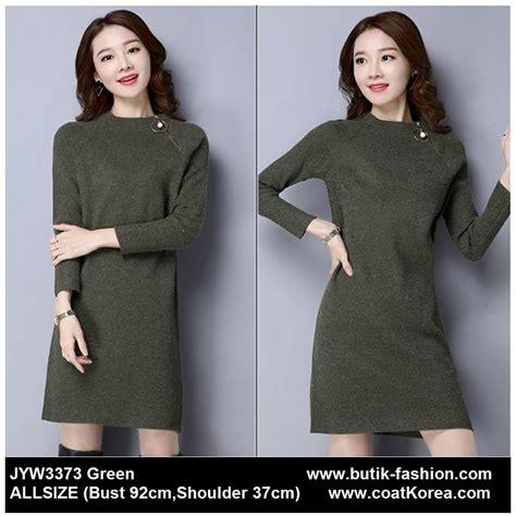 Rajut Halus Rajut Knit Baju Rajut Korea Green Smile sweater wanita korea knitting sweater jyw3373 4warna coat korea