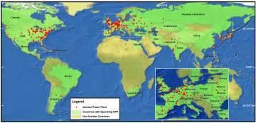 nuclear power plants in map fukushima the nuclear danger and the speculation with
