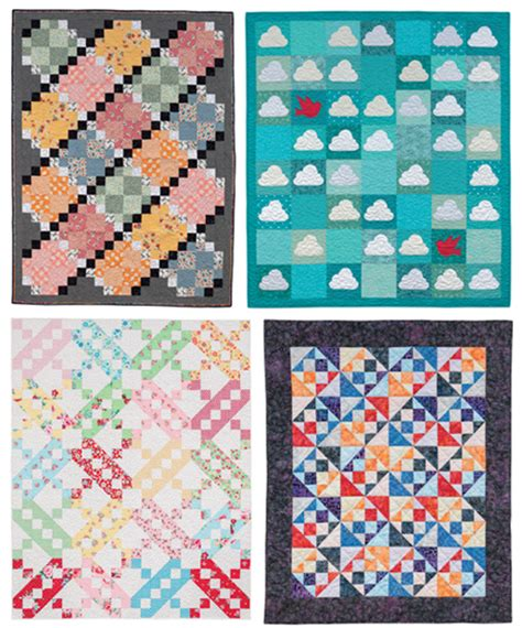martingale quilts for precut fabrics print