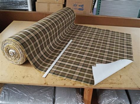 plaid automotive upholstery fabric westfalia plaid upholstery material sold per meter gowesty