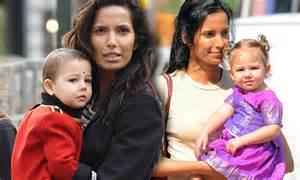 padma lakshmi baby daddy top chef host padma lakshmi shaves two year old daughter s