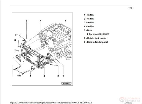 vehicle repair manual 1996 audi a4 electronic valve timing audi a4 engine 2 0 diagram imageresizertool com