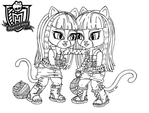 coloring pages monster high baby baby monster high coloring pages baby purrsephone et