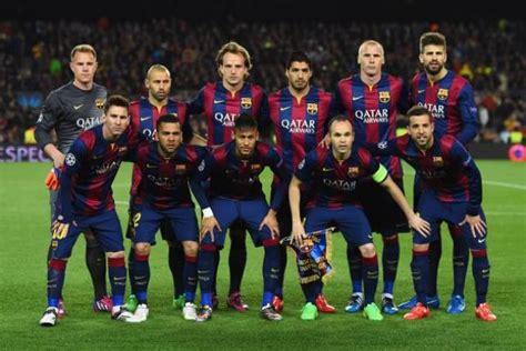 barcelona pemain daftar pemain skuad barcelona 2015 2016 sbobet indo
