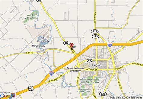where is seguin texas on a map pin area map on