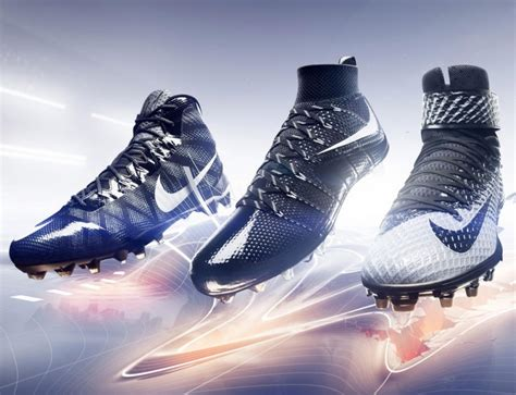 nike best football shoes nike introduces 3 new american football cleats
