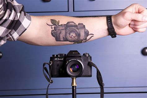 tattoo photo camera a camera by your side at all times