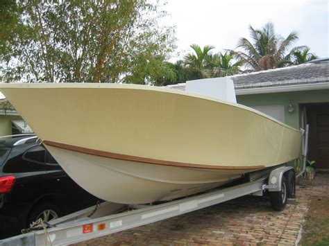 catamaran project hull for sale 25 seavee project boat the hull truth boating and