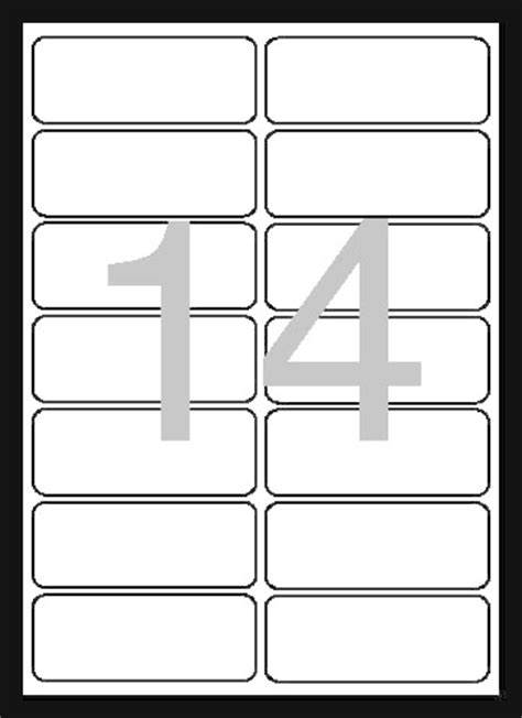 universal laser printer labels template universal labels