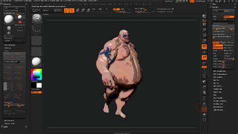tutorial zbrush 4r5 zbrush material rendering posterize cell shading cloud