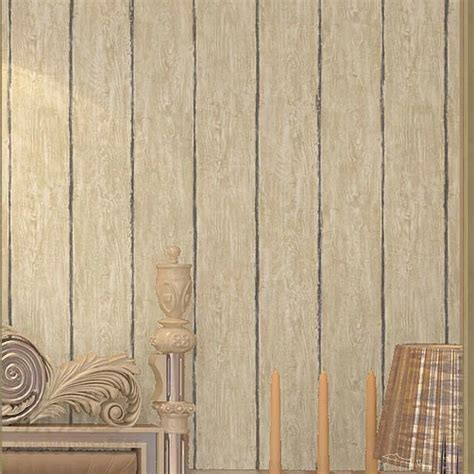 retro wood paneling 6197 vintage retro wood panel non woven wallpaper home