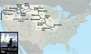 Lewis And Clark Route Map by Lewis And Clark Expedition Map Route Images Amp Pictures Becuo