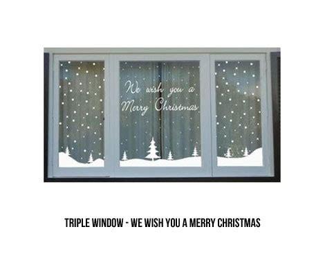 Weihnachtsdeko Langes Fenster by Window Stickers Grabone Store