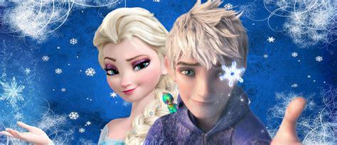 imagenes de jack y elsa frozen 191 segunda parte con jack frost y elsa enamorados