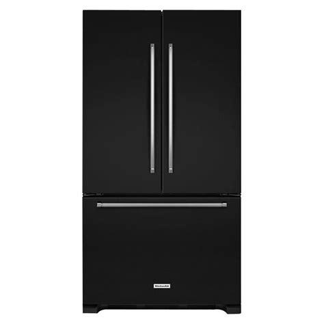 standard depth door refrigerator kitchenaid 25 2 cu ft standard depth door