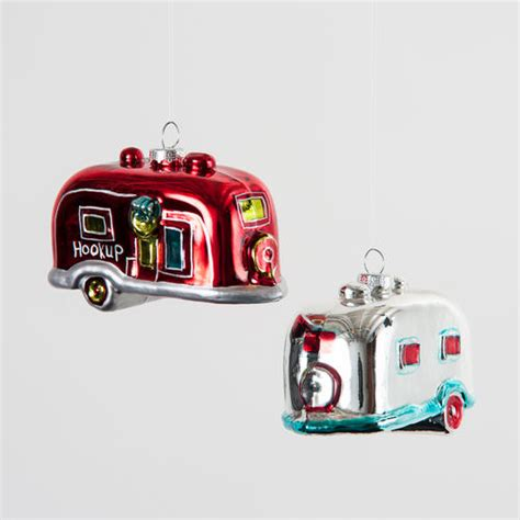 airstream ornaments retro 1950s airstream cer tree mobile 12 nova68