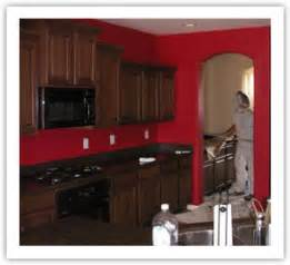Dark Red Kitchen Cabinets by Christine Fife Interiors Design With Christine The