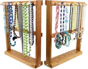 jewelry holder necklace holder rack sided bracelet