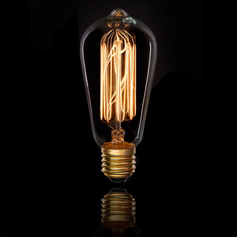 edison bulbs 25w 7 stem vintage style light bulb