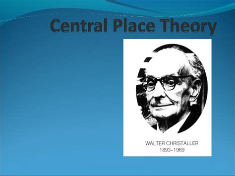 central place theory on emaze