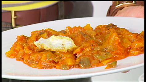 recetas de cocina pisto pisto manchego cocina receta canal cocina