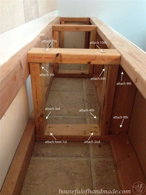 built in storage bench plans dining room built in bench with storage hometalk