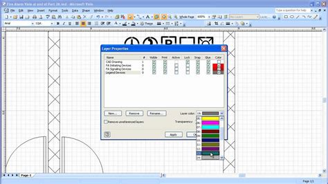 visio layer visio 2007 layers best free home design idea