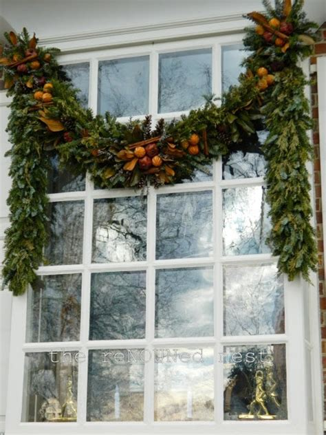 window garland swag 25 best ideas about swags on door
