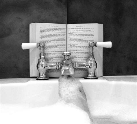 reading in the bathtub and now breathe