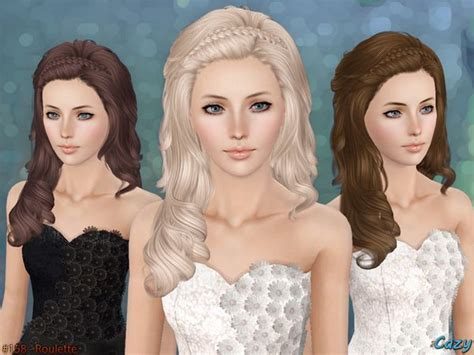 sims 2 custom content hair 1355 best images about sims 3 cc custom content