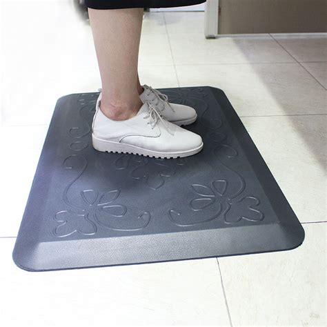 comfort mats for standing comfort standing footcare pu foam anti fatigue floor mat