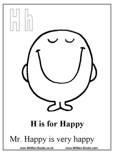 happy coloring pages mr happy coloring page w s 1st birthday