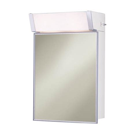 surface mount medicine cabinet with lights lighted 16 in w x 24 in h x 8 in d framed stainless steel surface mount bathroom medicine