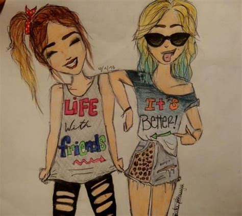 cute drawings of friendship best friend heart drawings hipster 30 best images about dibujos on pinterest bookmarks