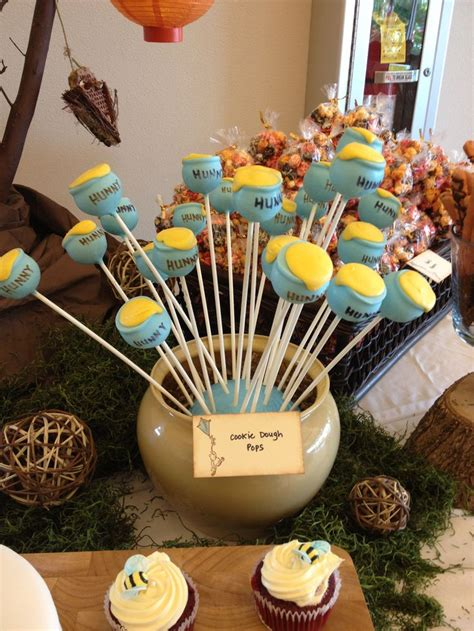 Vintage Winnie The Pooh Baby Shower by Honeypot Cakepops For Winnie The Pooh Baby Shower