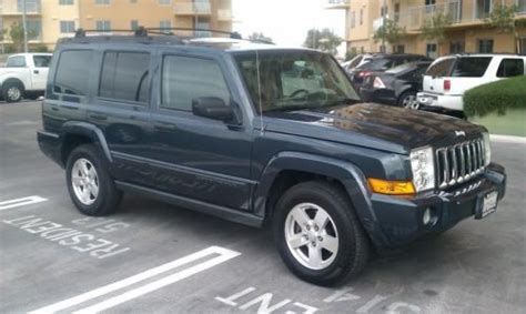 jeep commander with 3rd row seating sell used 2006 jeep commander sport 4x4 loaded with only