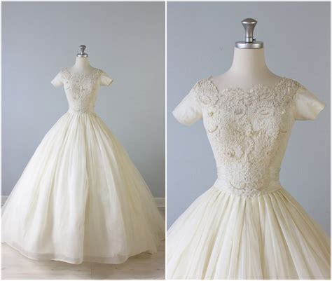 vintage 1950s wedding dresses vintage wedding dresses from the vintage chic