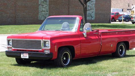 film pick up 1975 1975 gmc sierra classic custom pick up convertible summer