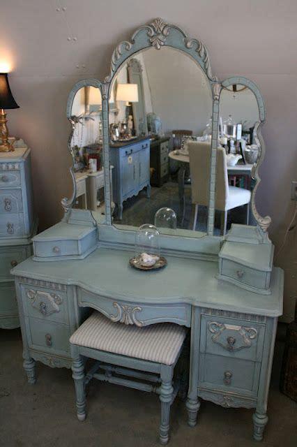 vintage bedroom vanity set bedroom vanities at hayneedle reloved rubbish vintage aqua dresser and vanity set