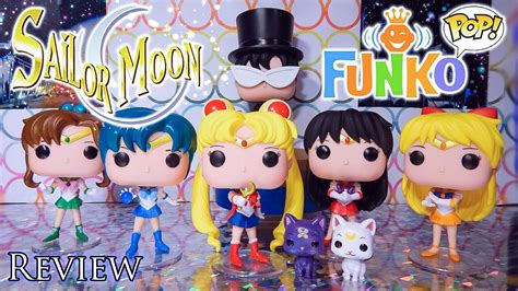 Funko Pop Sailor Moon With Bishoujo Senshi Sailor Moon sailor moon funko pop collection review
