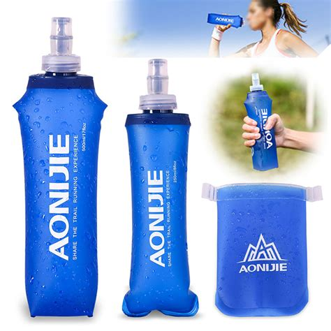 Botol Bottle H2o Infused Water 650 Ml botol minum lipat cing mountaineering water