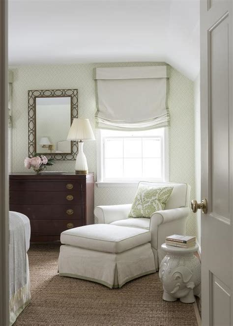corner chair for bedroom green bedroom with tray ceiling transitional bedroom