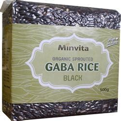 milling gaba hair style minvita gaba black rice 500 g alternative natural health